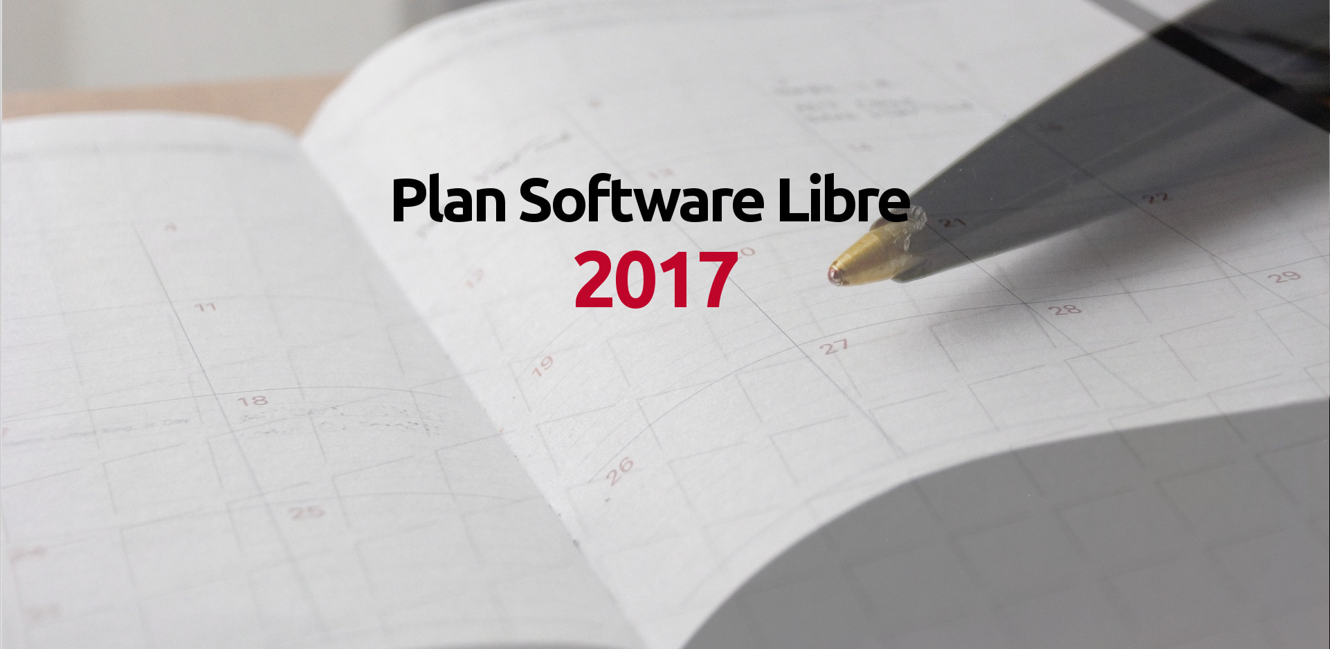 Plan de software libre 2017