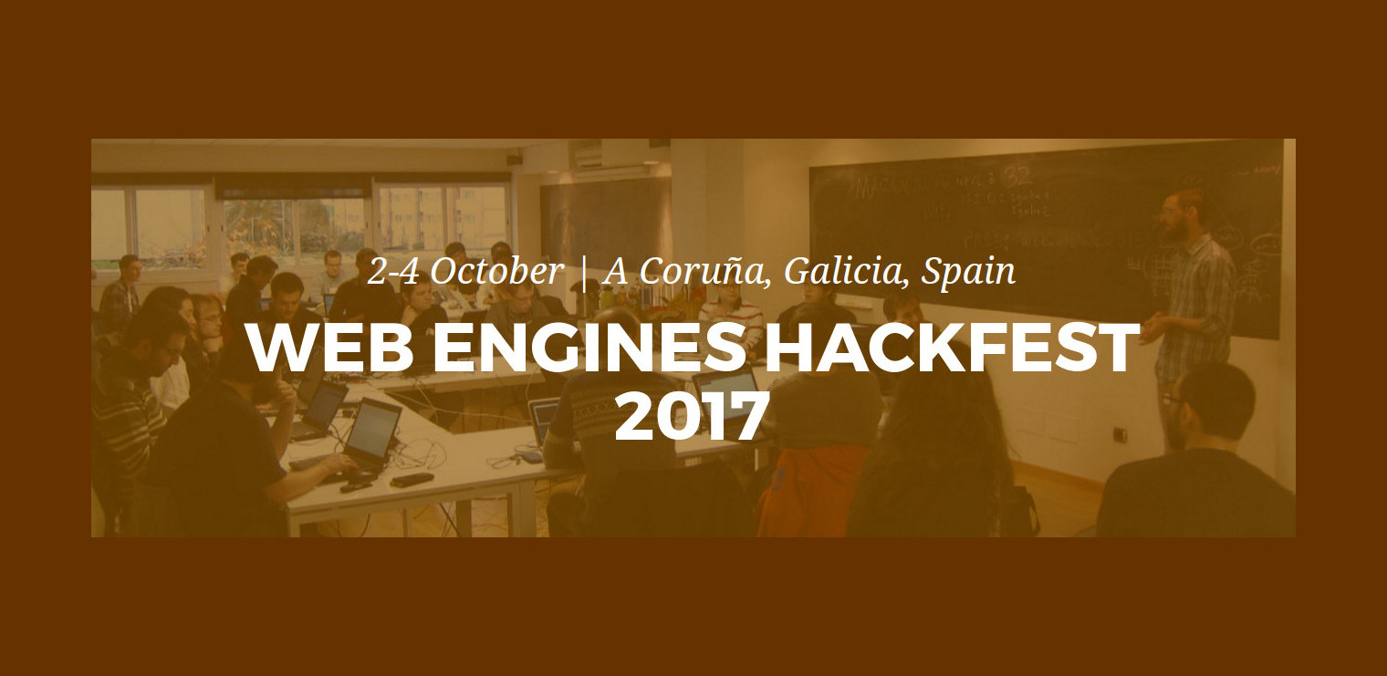 Web Engine Hackfest 2017