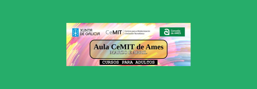 Aula CeMIT Ames marzo abril