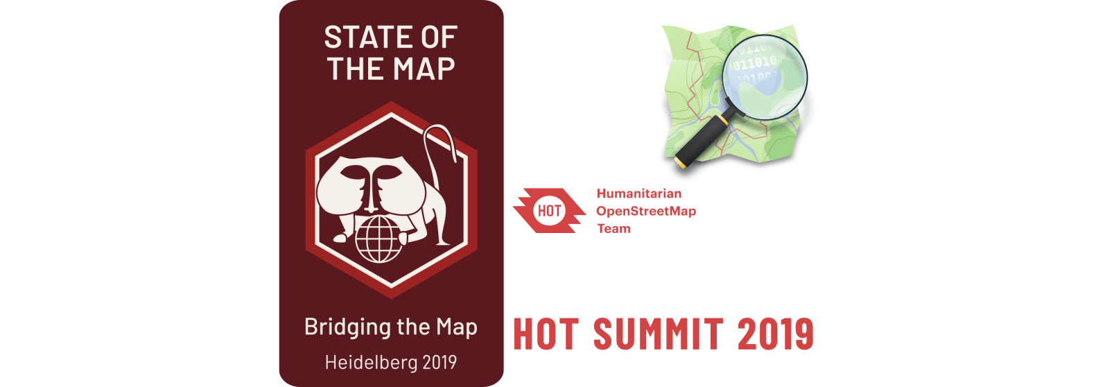 "Próximos eventos relacionados con OSM, ""State of the map"" e ""HOT summit"""