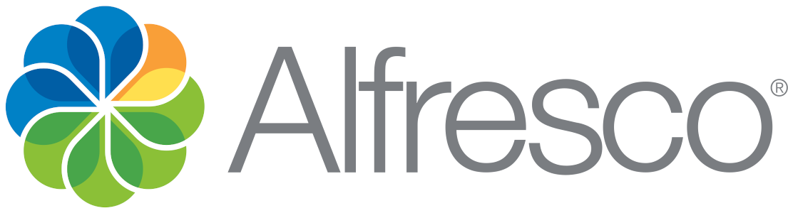 Logo de Alfresco