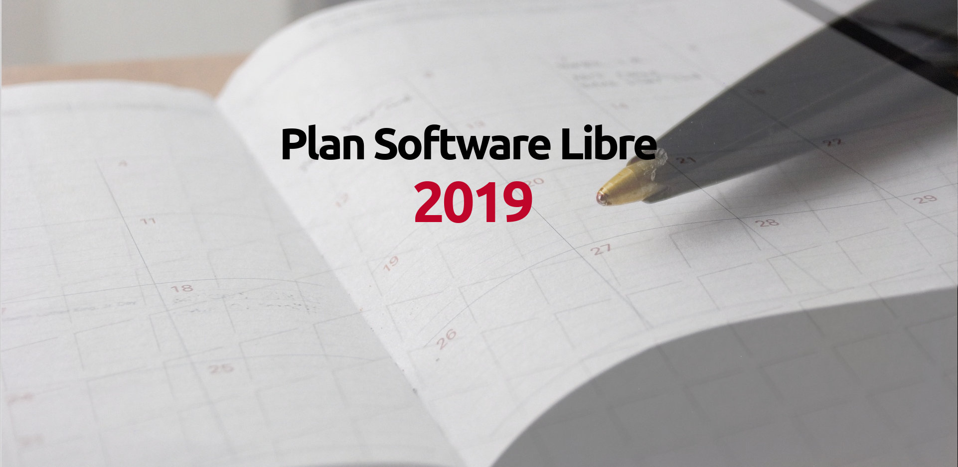 Plan de Software Libre 2019