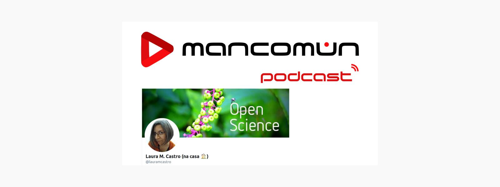 #39-Mancomún Podcast: Software libre na universidade, con Laura Castro