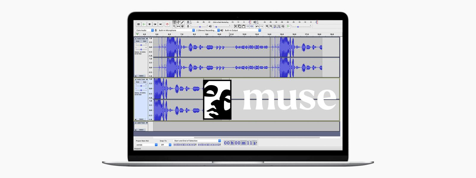 MUSE Group adquire Audacity