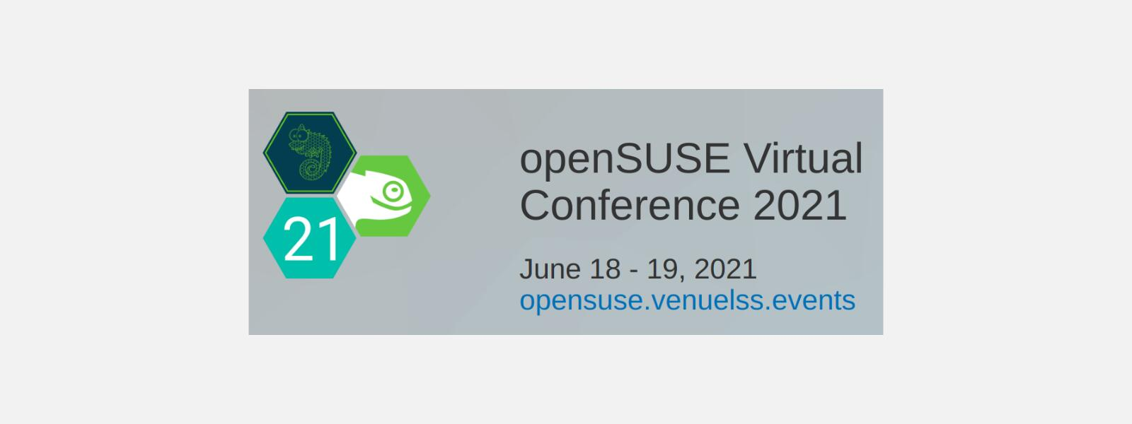 openSUSE Virtual Conference 2021