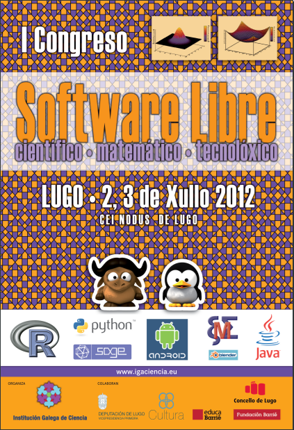 Cartel do I Congreso de SwL na ciencia