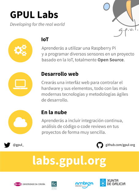 Cartel de GPUL labs